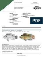 FIGIS Document - Cultured Aquatic Species Information Programme FAO