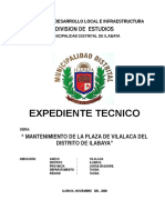 Tapas Del Expediente-mant Plaza Vilalaca
