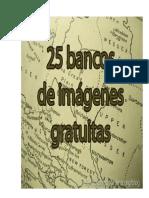 25 Bancos de Imágenes Gratuitas