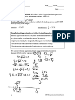 g8m7l8- rational approximation of irrational numbers