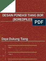 Desain Pondasi Tiang Bor_Axial