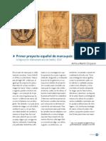 Primer Proyecto Español de Marca país