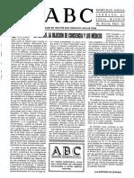 El Aborto, La Objeción de Conciencia y Los Médicos (M.calcerrada)
