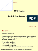 Cours Metrologie_Partie 2 _Incertitude de Mesure 1
