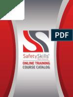 SafetySkills Catalog
