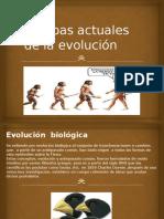 Pruebas Actuales de La Evolución