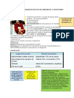 Trastornos Fonoaudiológicos Secundarios a Trastorno Motor
