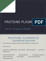 CURS 2 - Proteine Plasmatice 11 Martie 2015