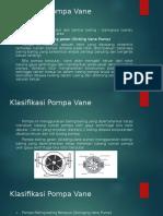 Klasifikasi Pompa Vane