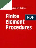 FEA - Finite Element Procedures by K J  Bathe