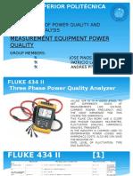 Measurement Equipment Power Quality