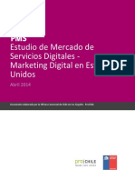 Estudio de Mercado Servicios Marketing Digital – Estados Unidos