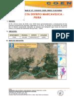 Riada Afecta Distrito de Marcavelica