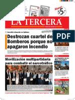 Diario La Tercera 15.03.2016
