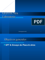 Geotecnia Unidad Nº4 Spt- Placa