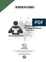 Sermonário e Guia de Estudos 2015 ( Domingos Especiais )