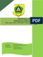Ciliwung - Proposal Mitigasi Pengelolaan Sampah