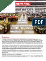 SFS Sfs Investor Presentation March 2016