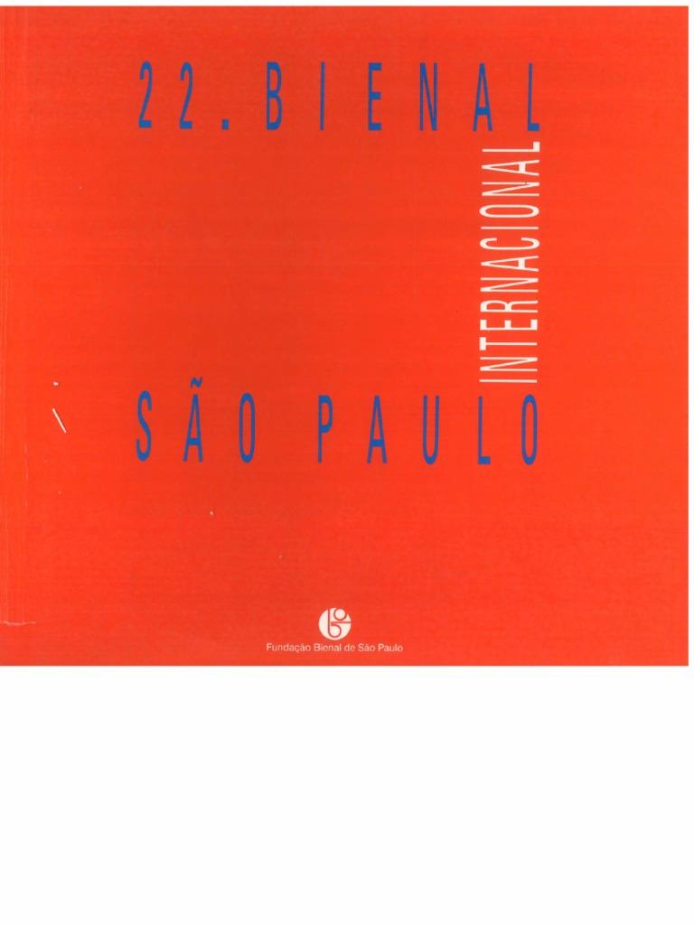 5528c508f4a63 22ª Bienal de São Paulo - Internacional 1994