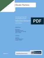 Elevator Modernization Case Study