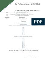 Modulo 3 -A Dimensão Parlamentar Do MERCOSUL