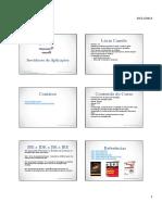 Servidores de Aplicacoes - Modulo 01 - Folhetos