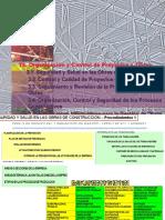Organización y Control de Proyectos y Obras.2007.