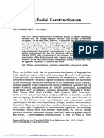 2001_Unravelling Social Constructionism