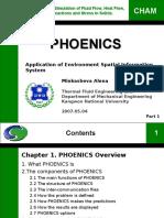 Phoenics Ch1 2 3