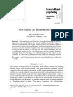 Transcultural Psychiatry 2008 Fakhr El Islam 671 82