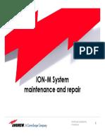 ION-M System Maintanance
