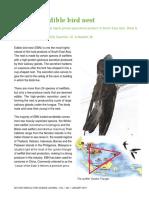UASJ 2015 Vol 1(1), 7 Secrets of Edible Bird Nest