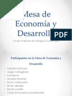 Presentacion Economia y Desarrollo