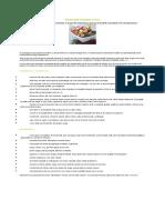Dietoterapia in Hepatita Cronica