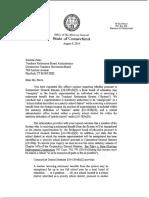 Attorney General's Letter to Darlene Perez