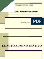 Acto Administrativo