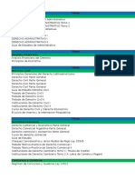 Catalogo de Libros Juridicos