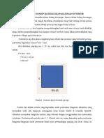 Aplikasi Konsep Matematika Pada Desain Interior