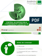 46 CONTROL DE EXPOSICION A CONTAMINANTES QUIMICOS EN A. L..pptx