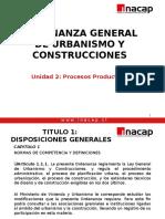 Ordenanza General de Urbanismo y Construcciones