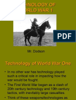 technology of world war one