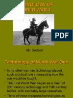 technology of world war one