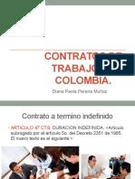 Contratos de Trabajo en Colombia