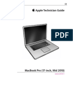 Apple Technician Guide MacBook Pro (17-inch, Mid 2010)