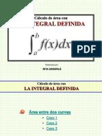 AREA+ENTRE+DOS+CURVAS