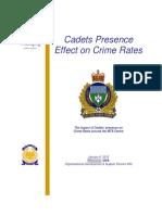 Cadet Report
