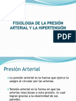 Fisiologia de La Presion y Hta