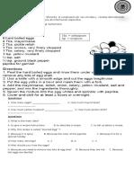Recipe Worksheet.doc