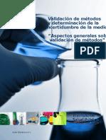Guia Técnica 1 Validación de Métodos y Determinación de La Incertidumbre de La Medición_1 - Copia