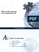 Review of Harrisburg Office of the Treasurer